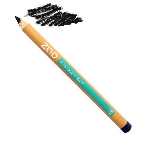 Crayons yeux multi-usages, nouvelle formule certifiée bio et 100% naturelle NOIR